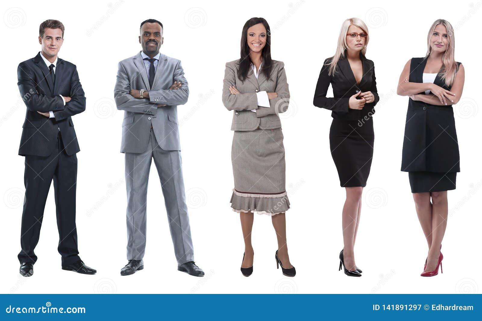 Κολάζ των επιχειρηματιών στο άσπρο υπόβαθρο