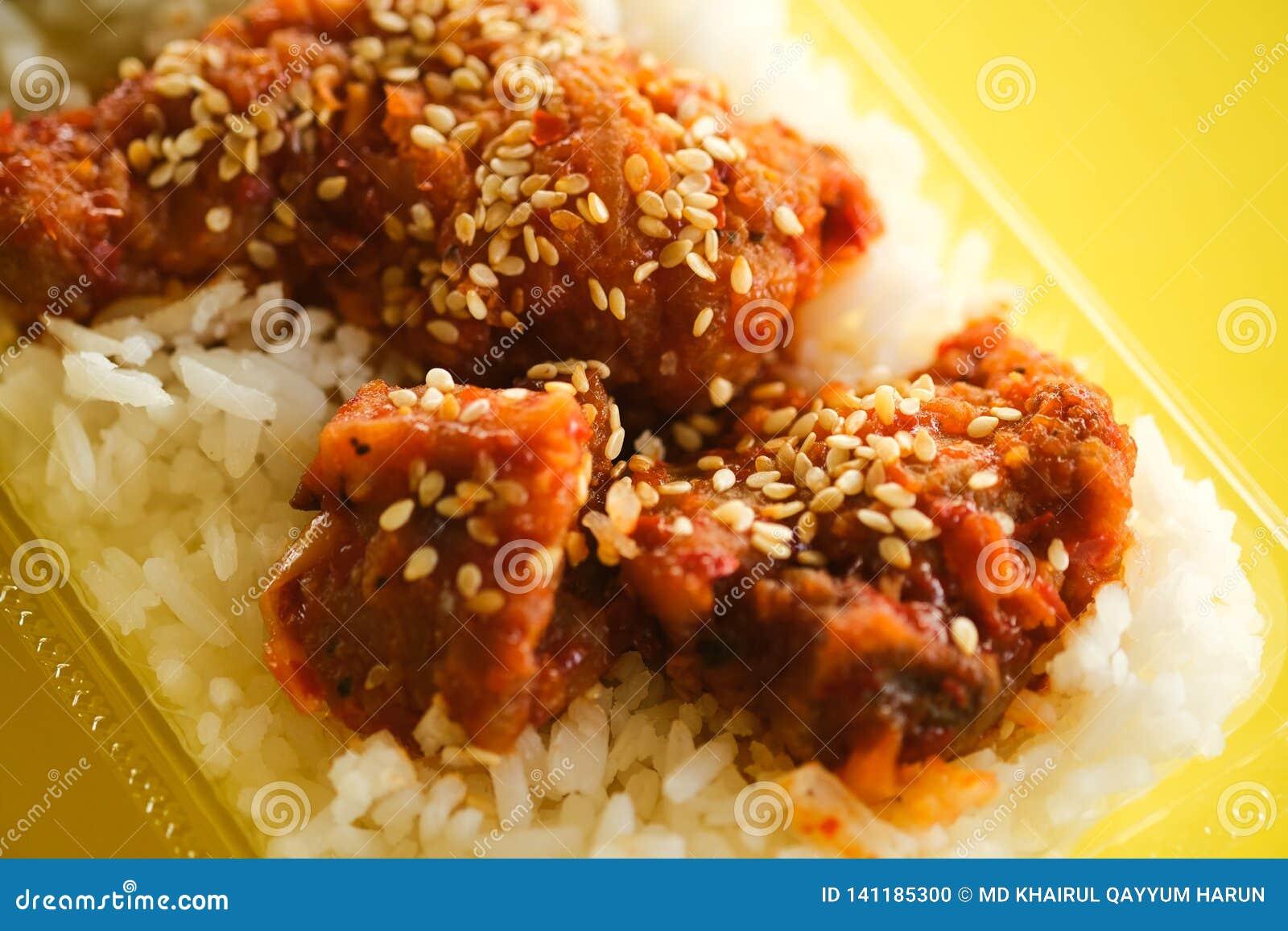 Κοτόπουλο με το σπόρο σουσαμιού