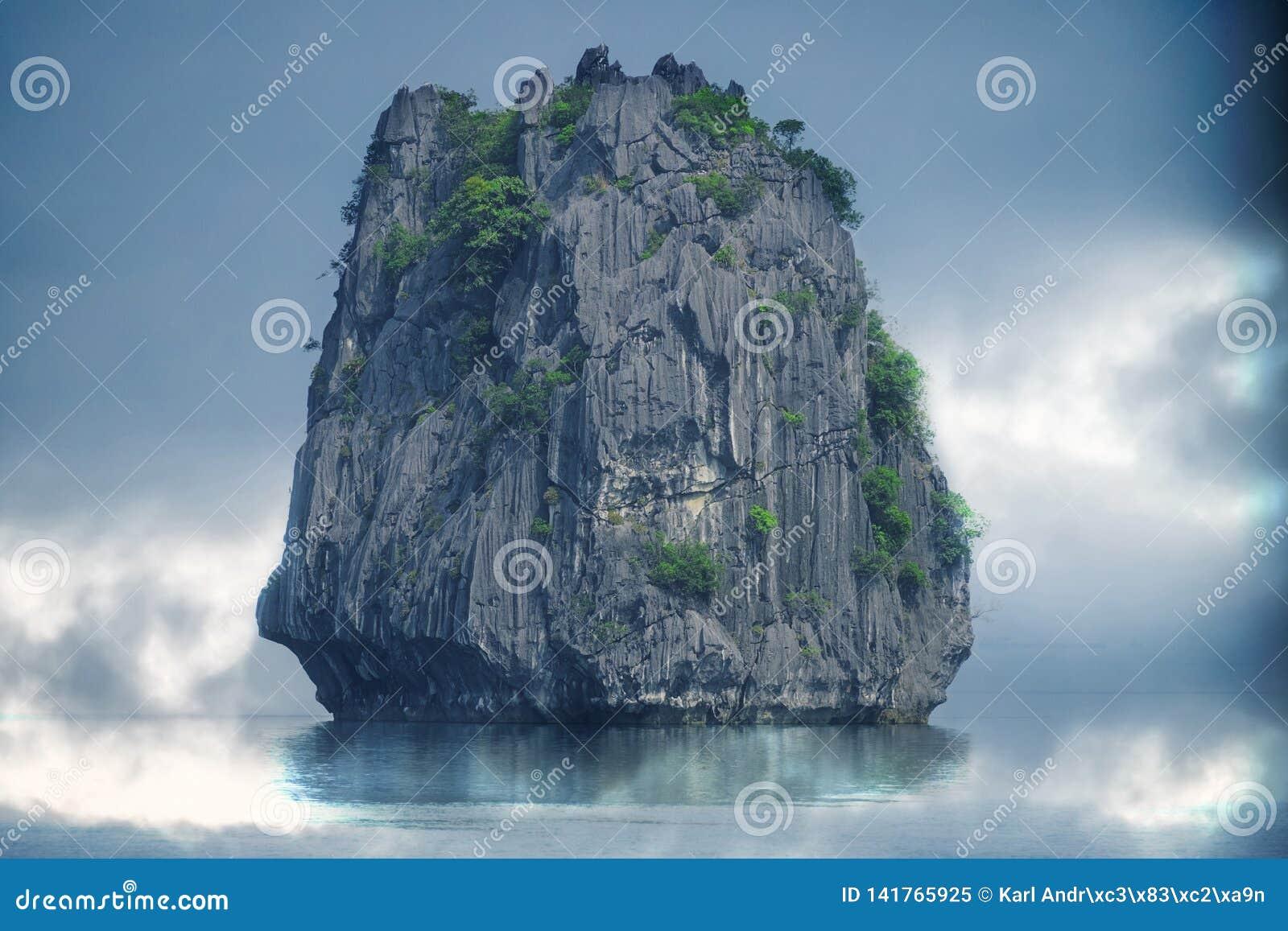 μεγάλη θάλασσα βράχου