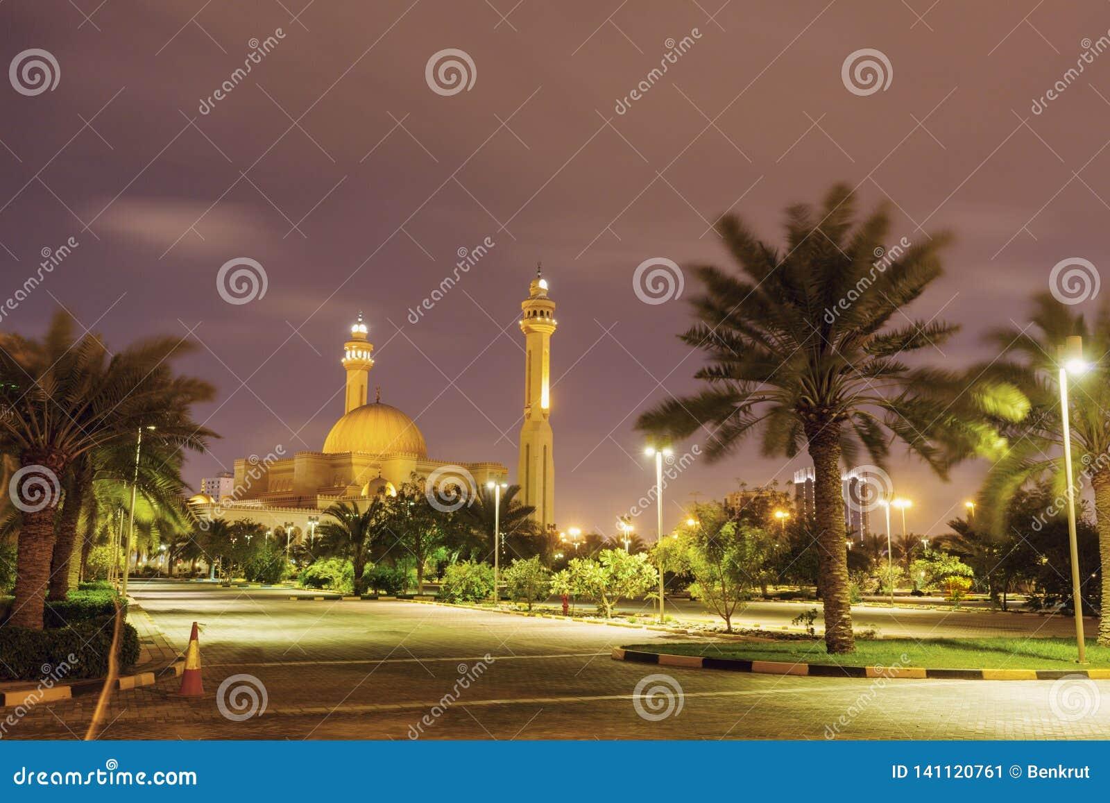 Μεγάλο μουσουλμανικό τέμενος Al Fateh σε Manama