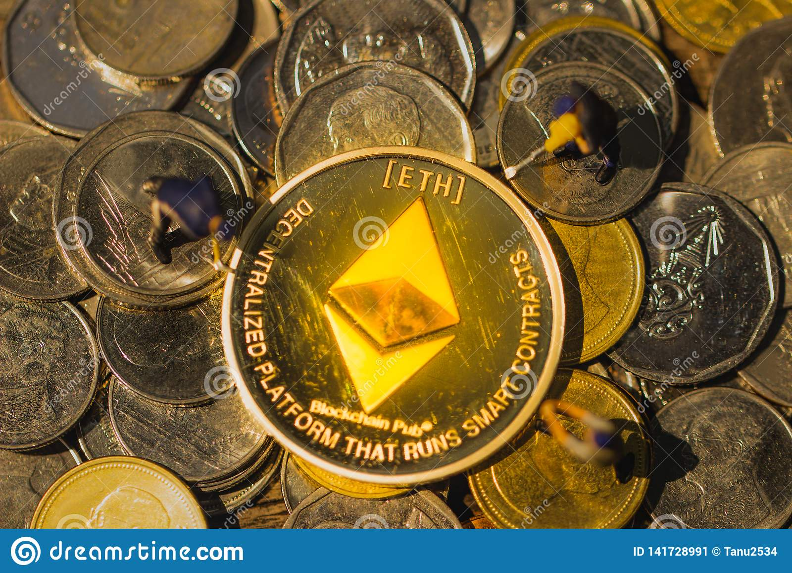 Μεταλλεία και ορυχείο ETH Ethereum