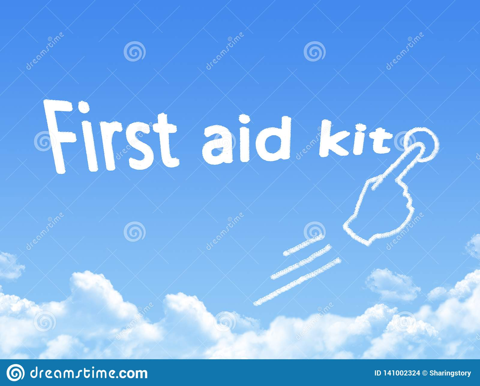 Μορφή σύννεφων μηνυμάτων εξαρτήσεων πρώτων βοηθειών