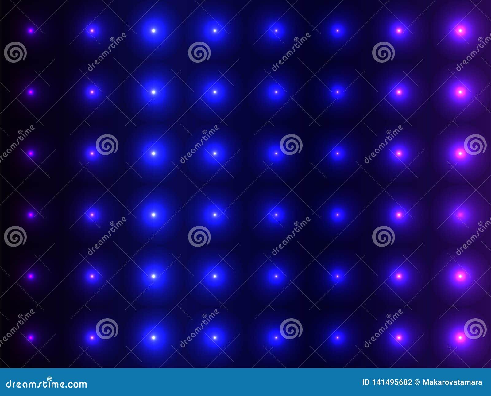 Μπλε κυρτές σφαίρες σκιών, λαμπιρίζοντας σχέδιο