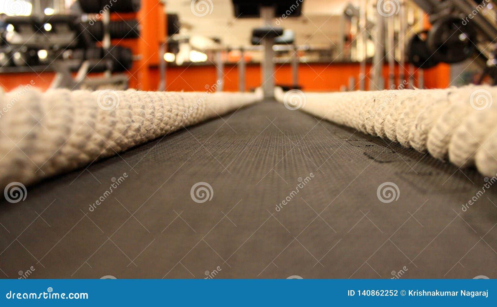 Να μαθεί τα σχοινιά στη γυμναστική