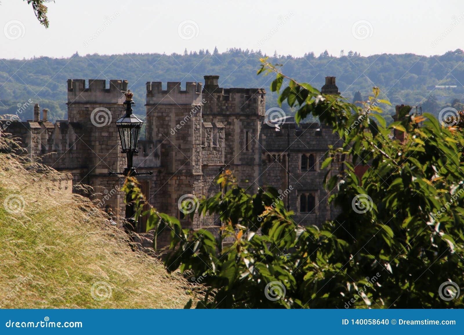 Οχυρώσεις σε Windsor Castle