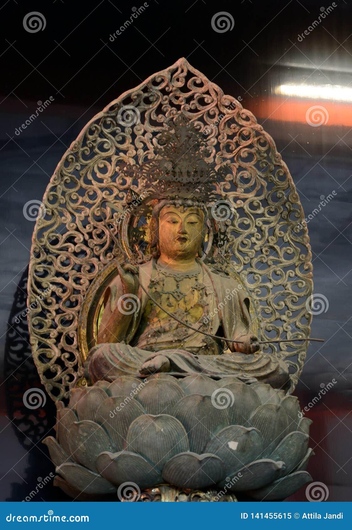 Ο ξύλινος Βούδας, Κιότο, Ιαπωνία