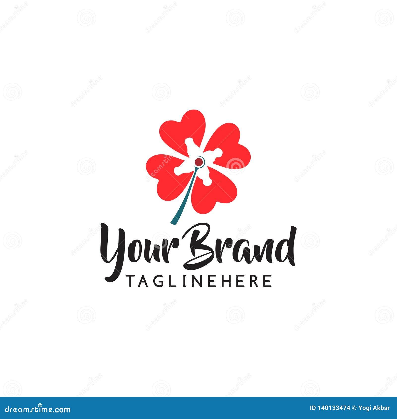 Διανυσματικό σχέδιο εικονιδίων λογότυπων καταστημάτων λουλουδιών Καλλυντικά, SPA, διανυσματικό λογότυπο μπουτίκ διακοσμήσεων σαλο