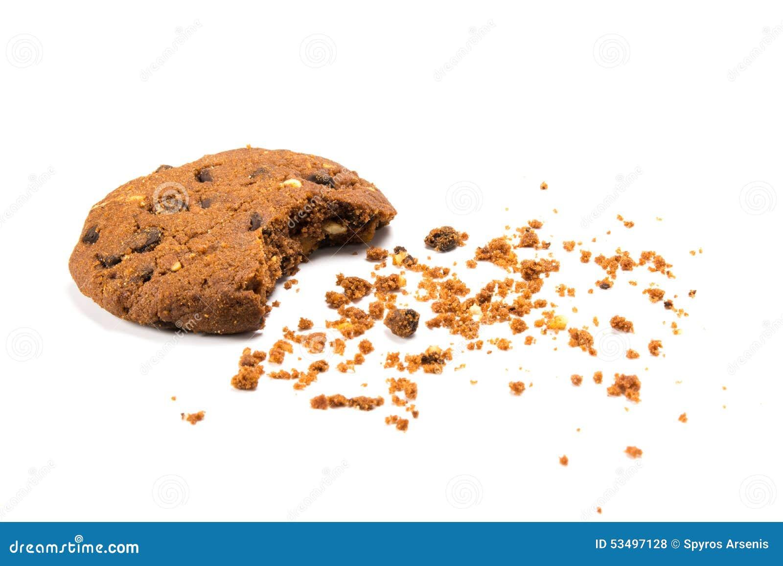Î ` gryźć ciastko z kruszkami