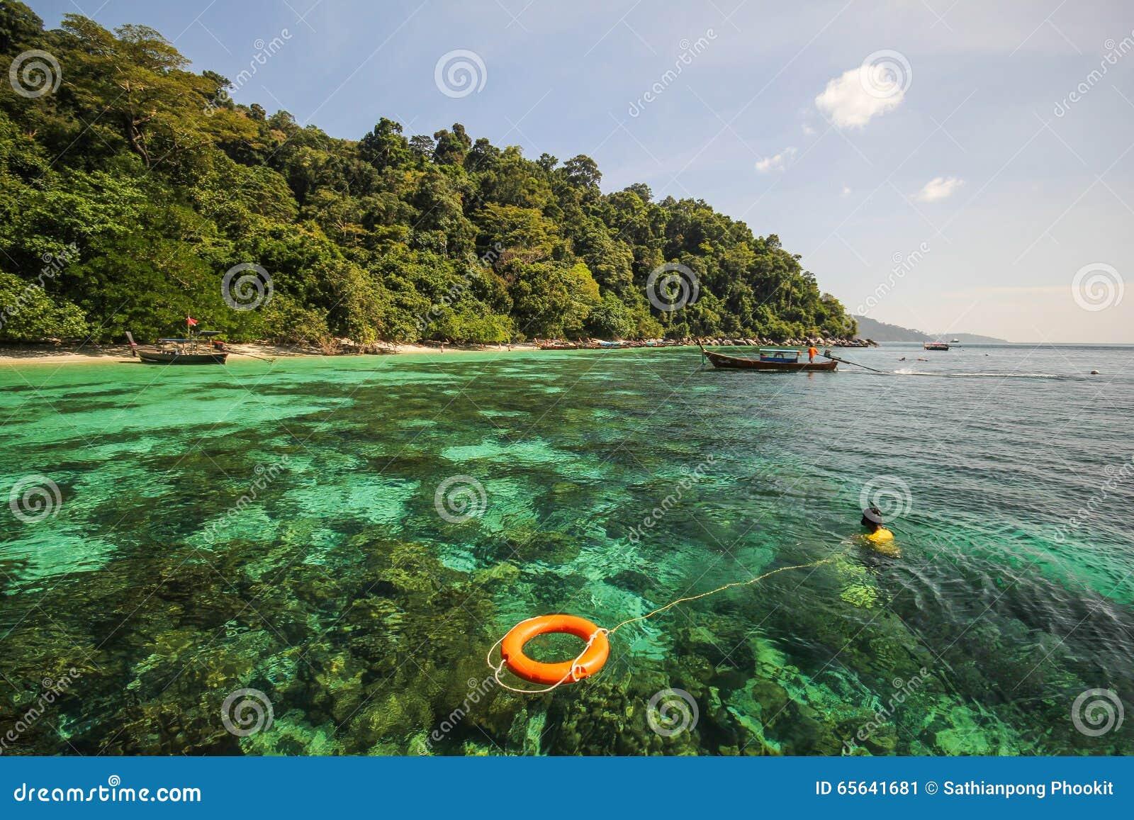 Île d Adang, province Thaïlande de Koh Adang Satun