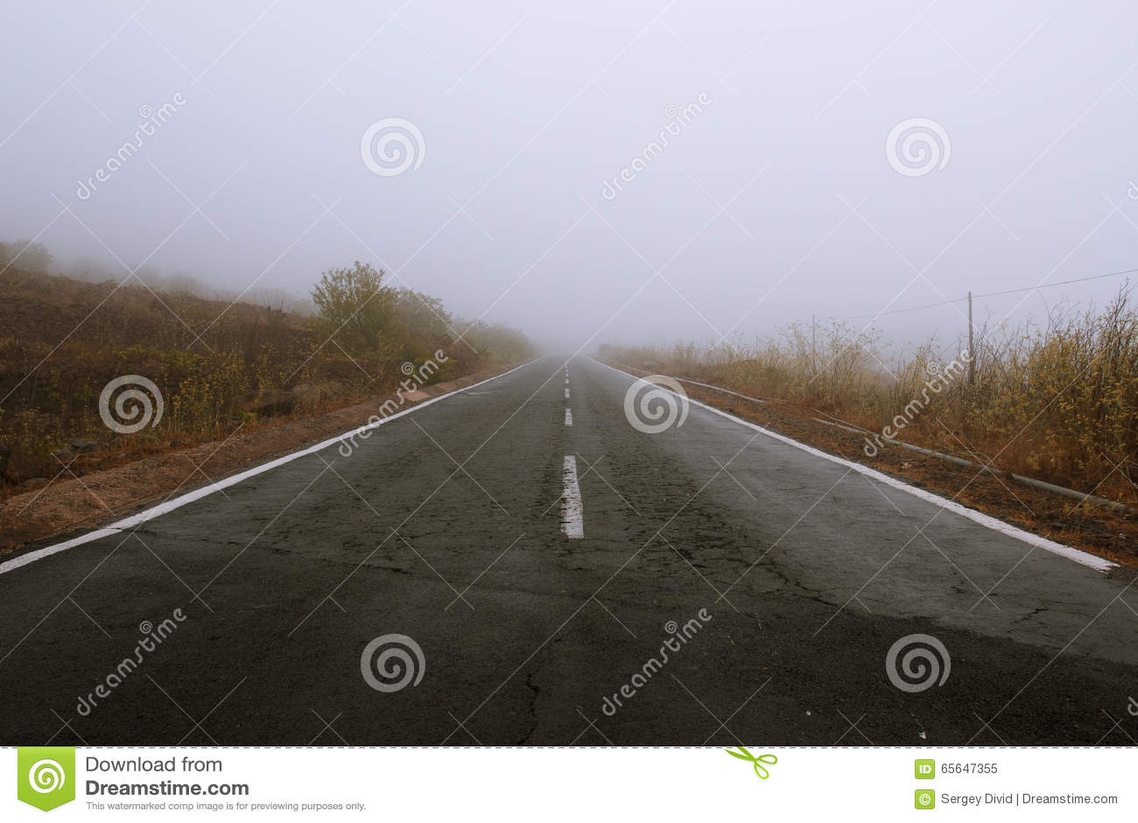 Île de brouillard