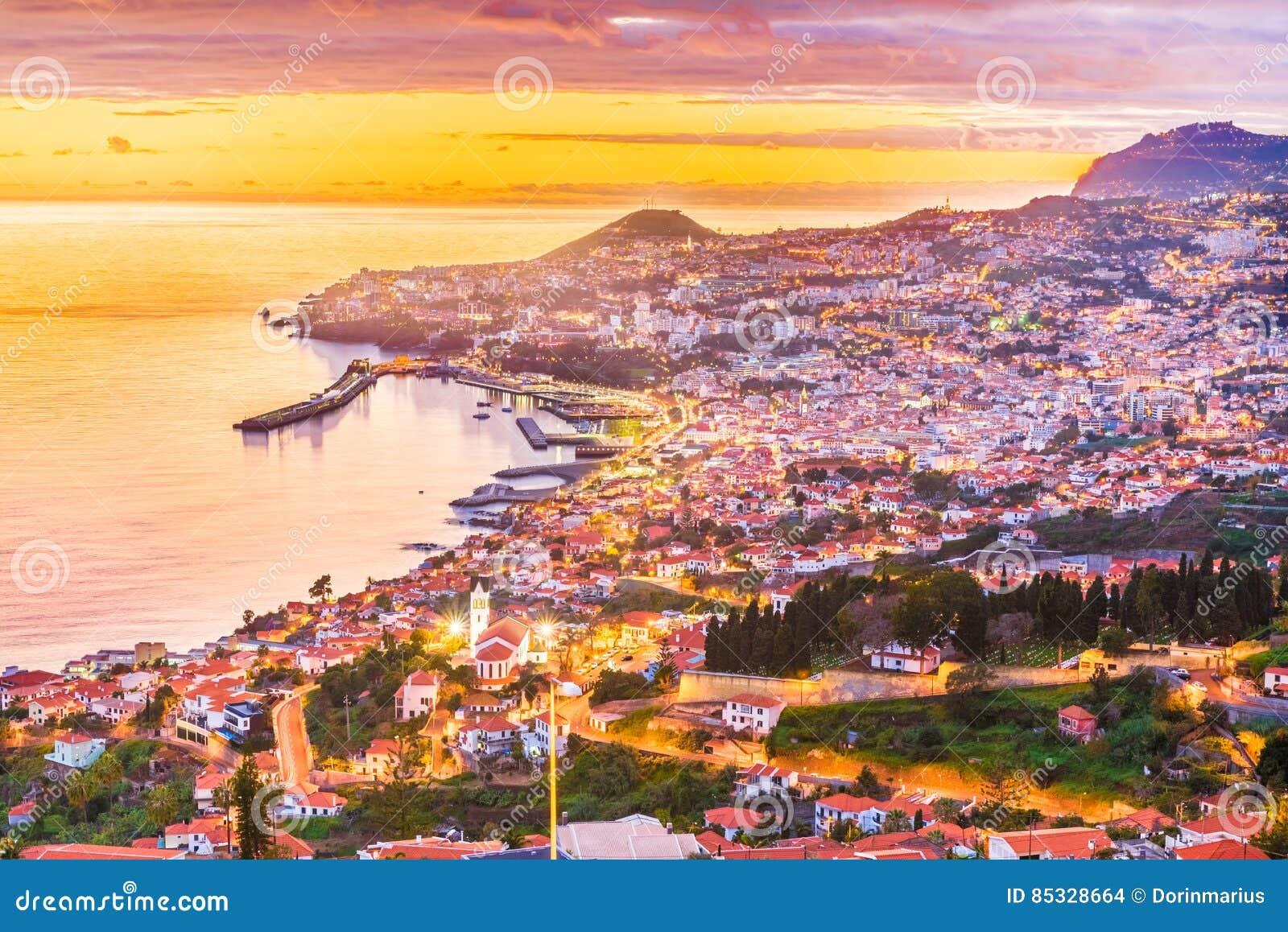 Île de la Madère d †de Funchal «, Portugal