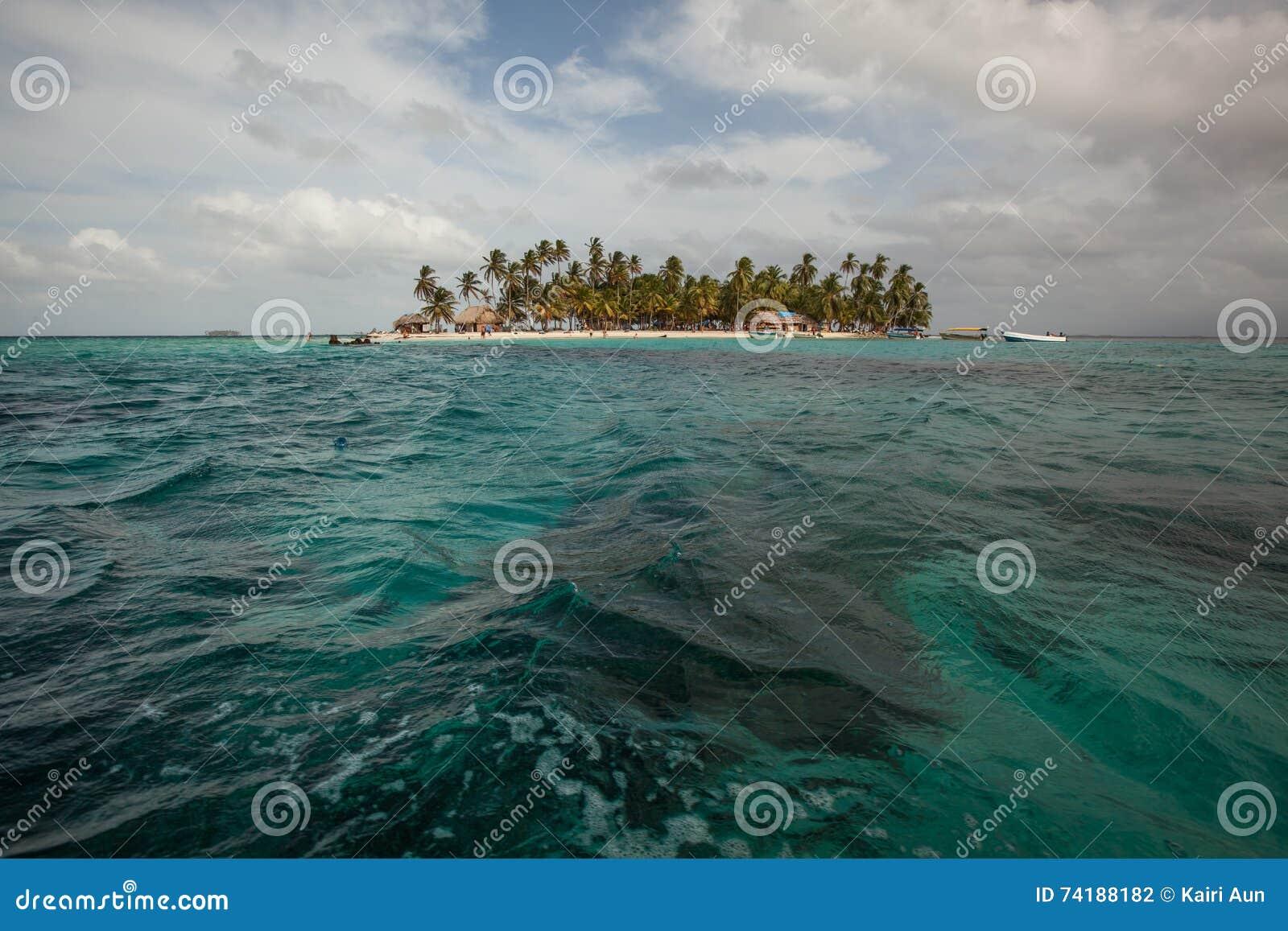 Île de Sunblas au Panama