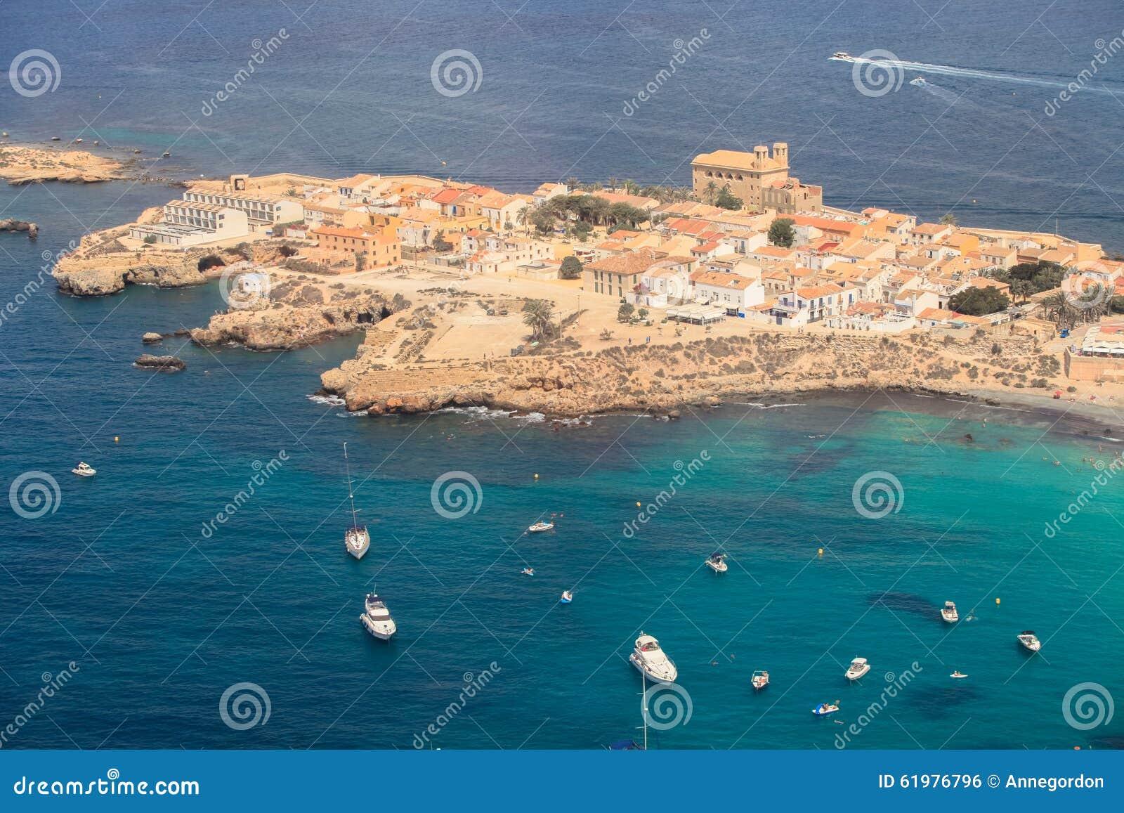 Île de Tabarca dans Alicante, Espagne
