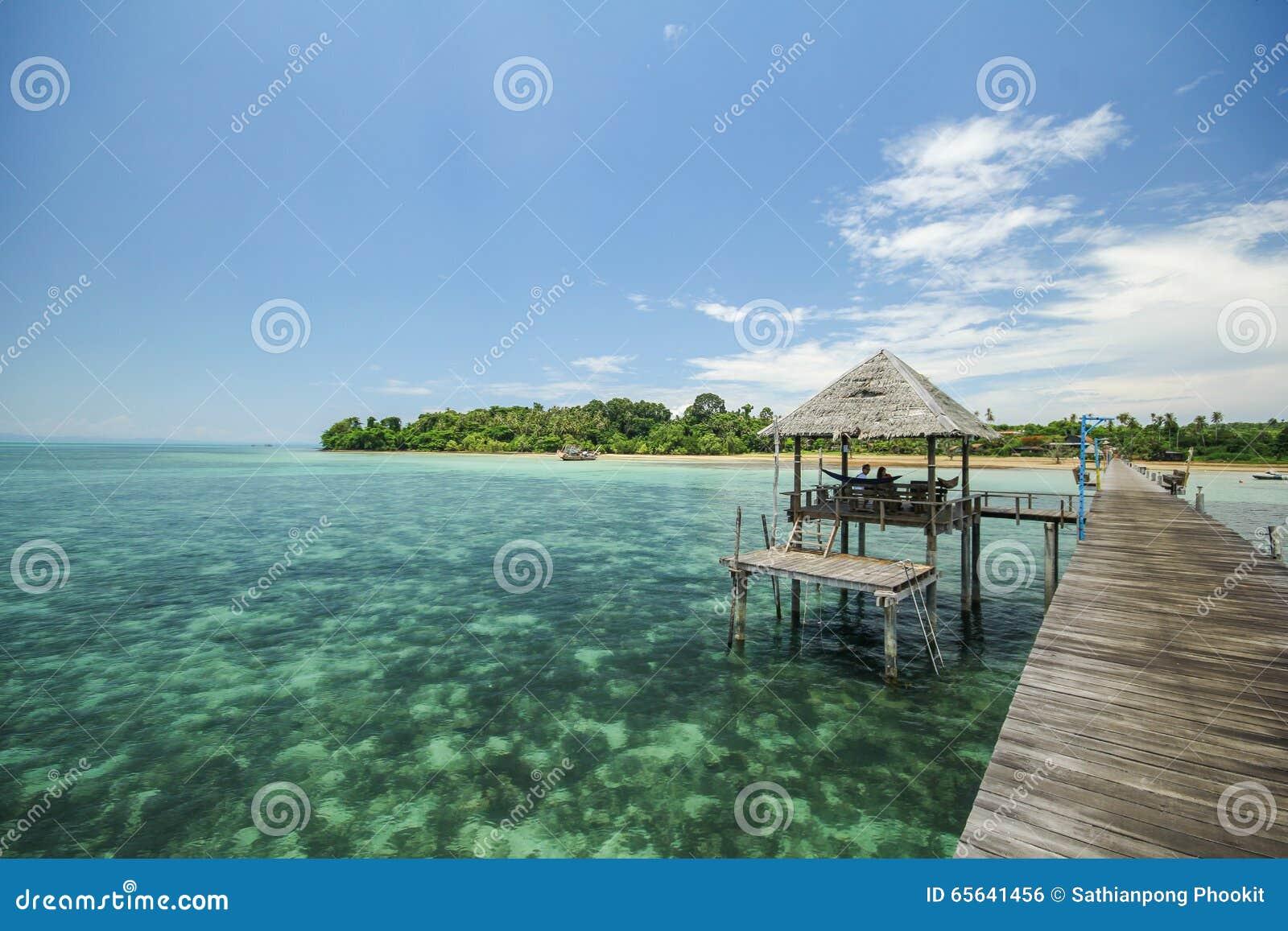 Île Koh Mak Trat Thailand de valeurs maximales de concentration au poste de travail