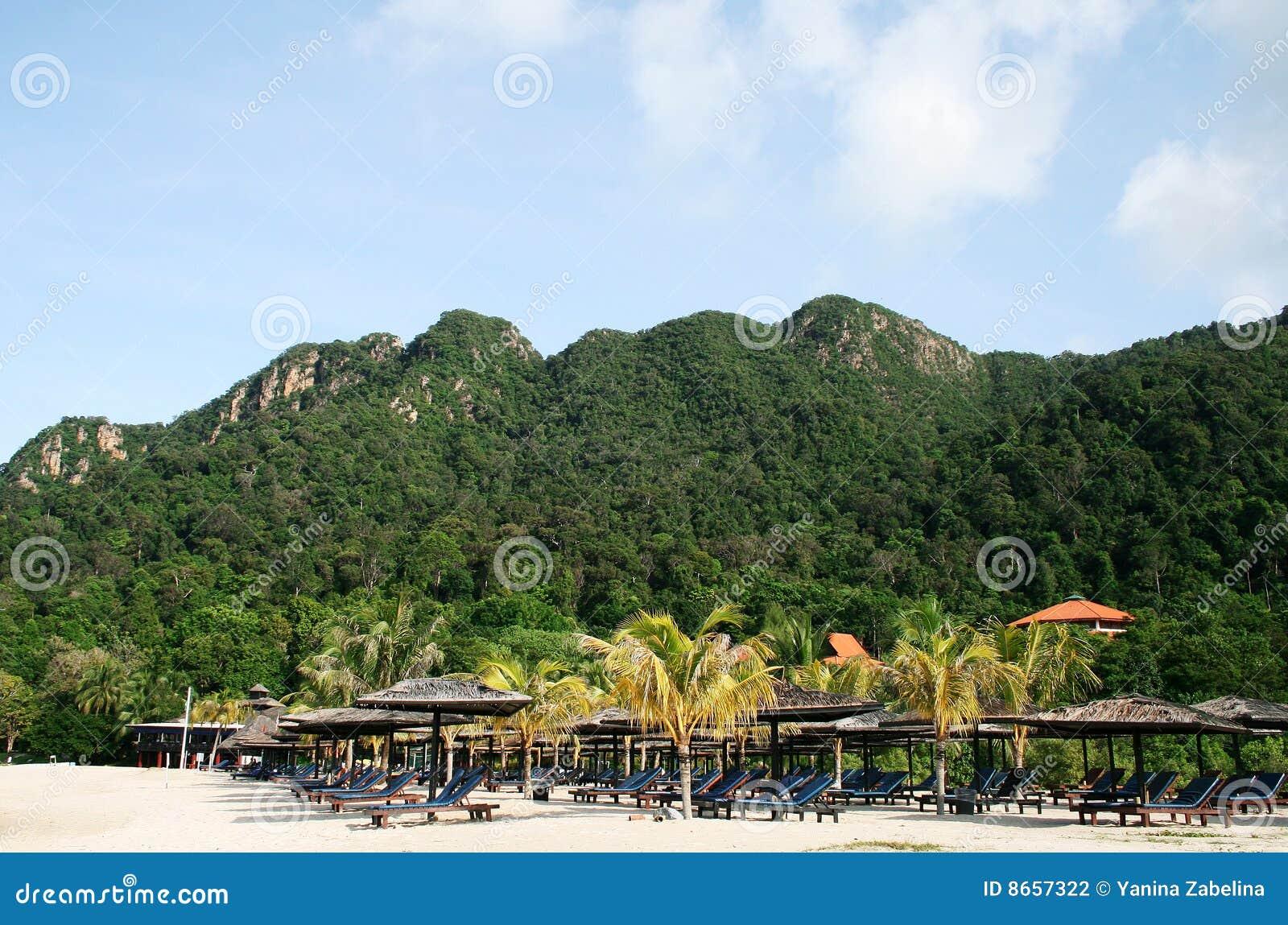île langkawi de plage