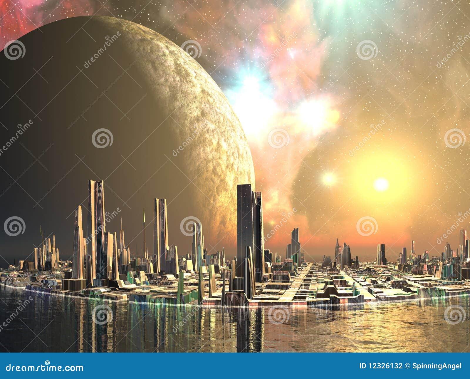 Îles d Utopie - villes du contrat à terme