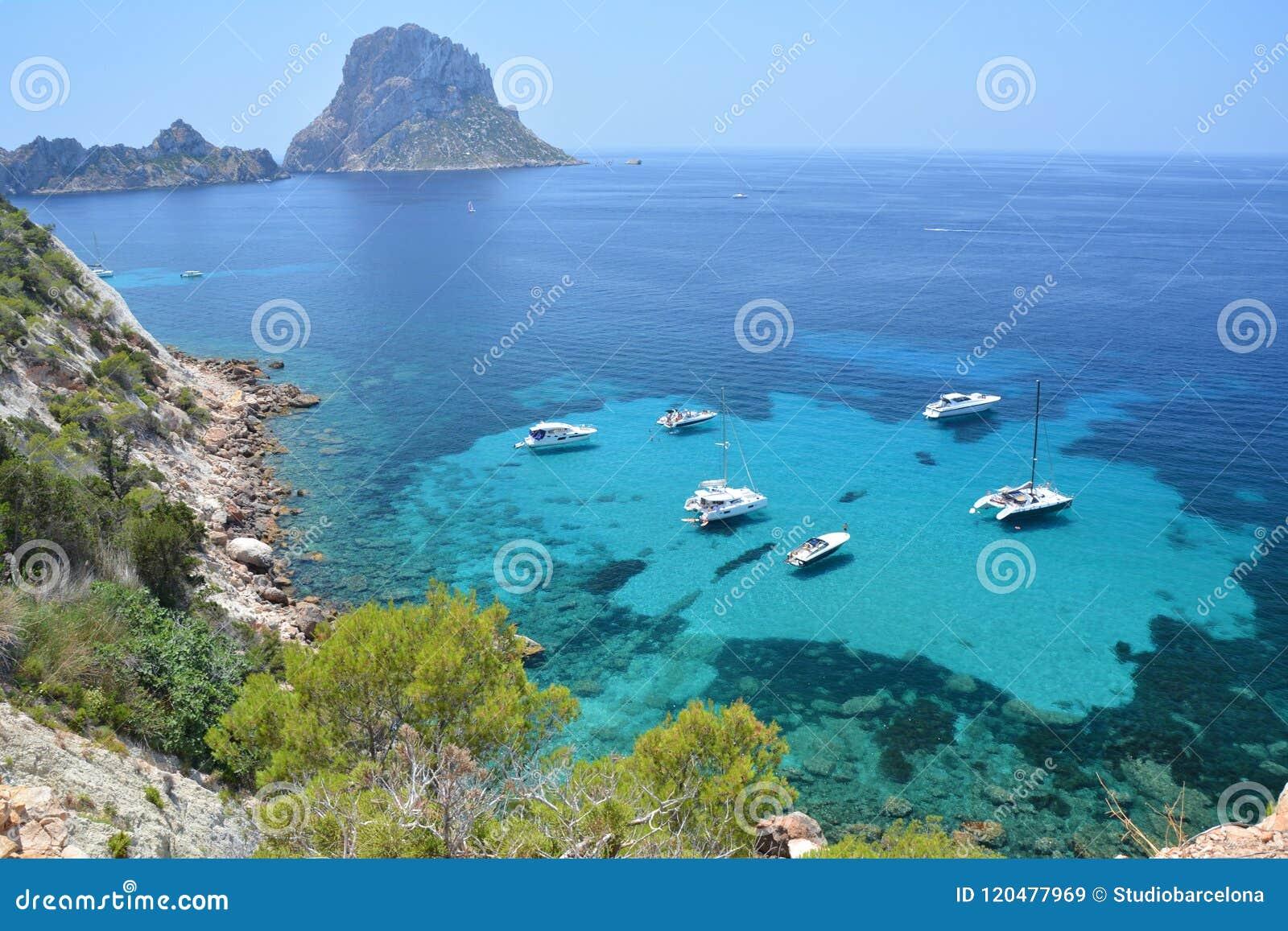 Îlot d es Vedra d île d Ibiza