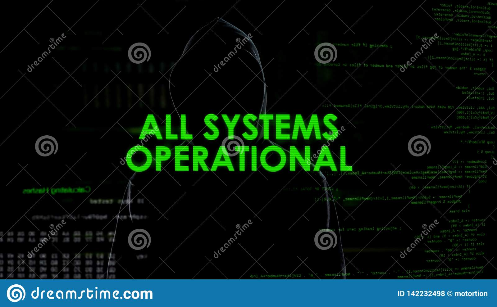 Όλη η λειτουργική, επιτυχής προσπάθεια χάραξης συστημάτων, ανώνυμο cyberattack
