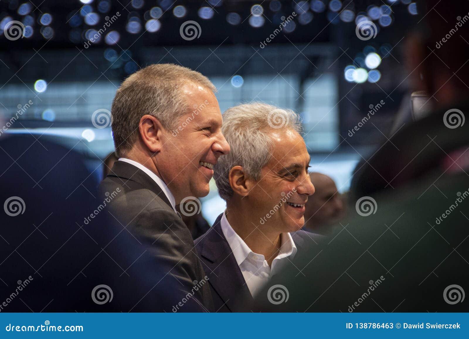 Σικάγο δήμαρχος Rahm Emanuel