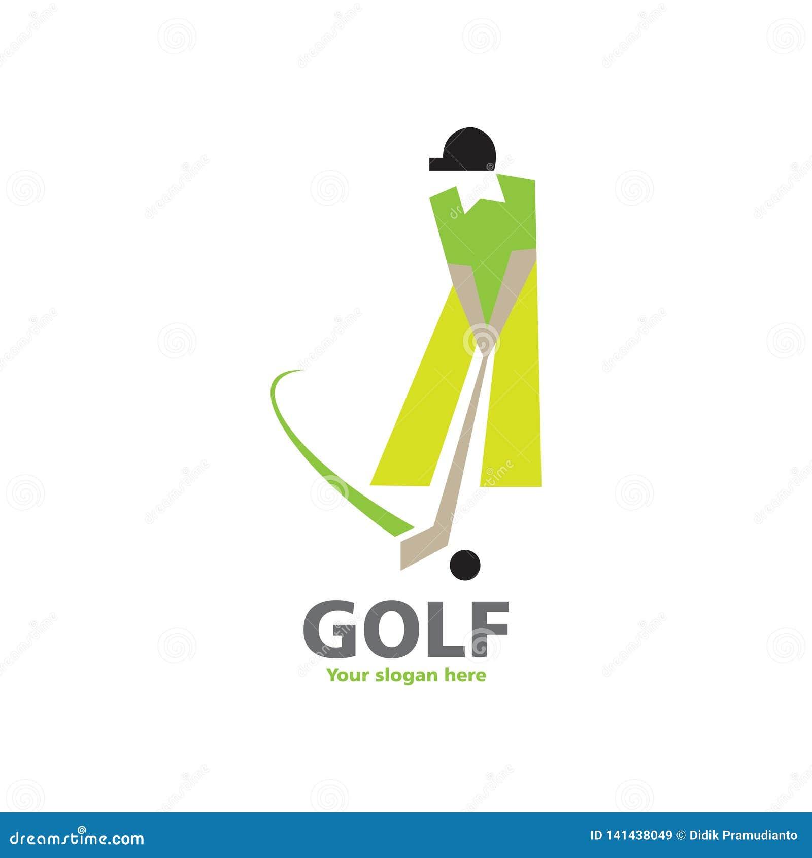 Σχέδιο λογότυπων γκολφ
