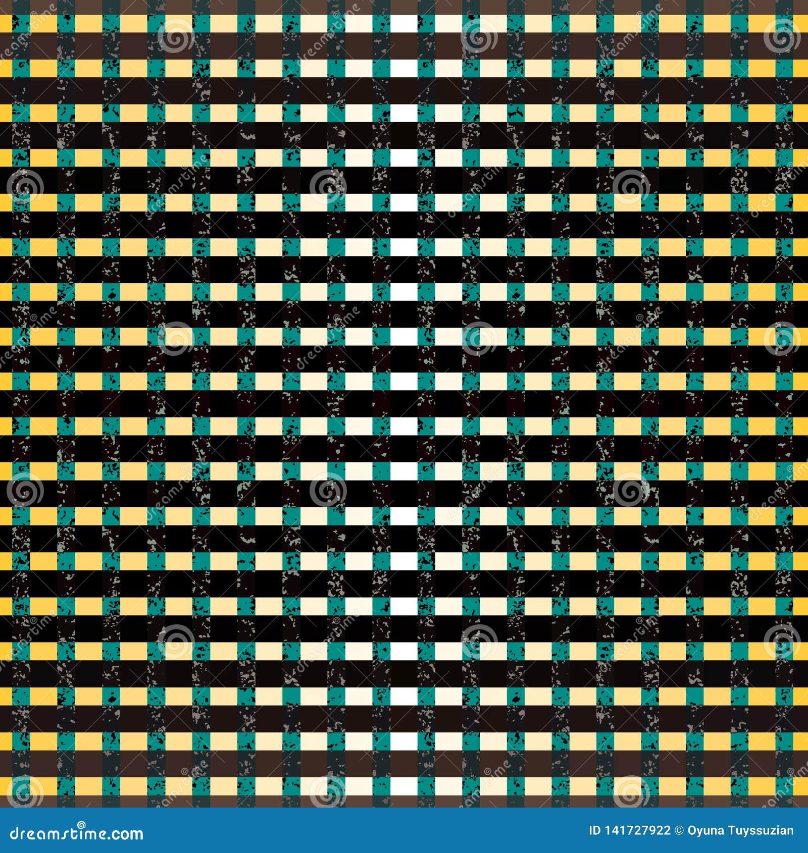 Σχέδιο σχεδίων λωρίδων, spatters και ορθογωνίων, διανυσματικό υπόβαθρο απεικόνισης