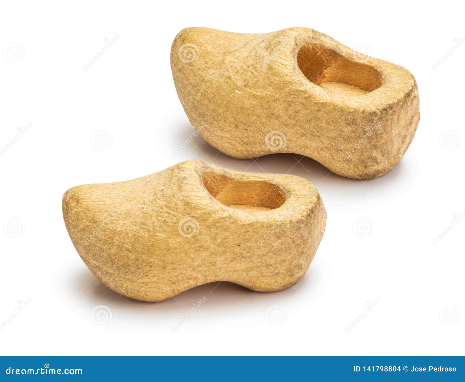 Τα μικρά albarcas χάρασαν ξύλινα clogs, Cantabria, από την Κανταβρία, αστουρίες, Γαλικία, Leà ³ ν, Ολλανδία
