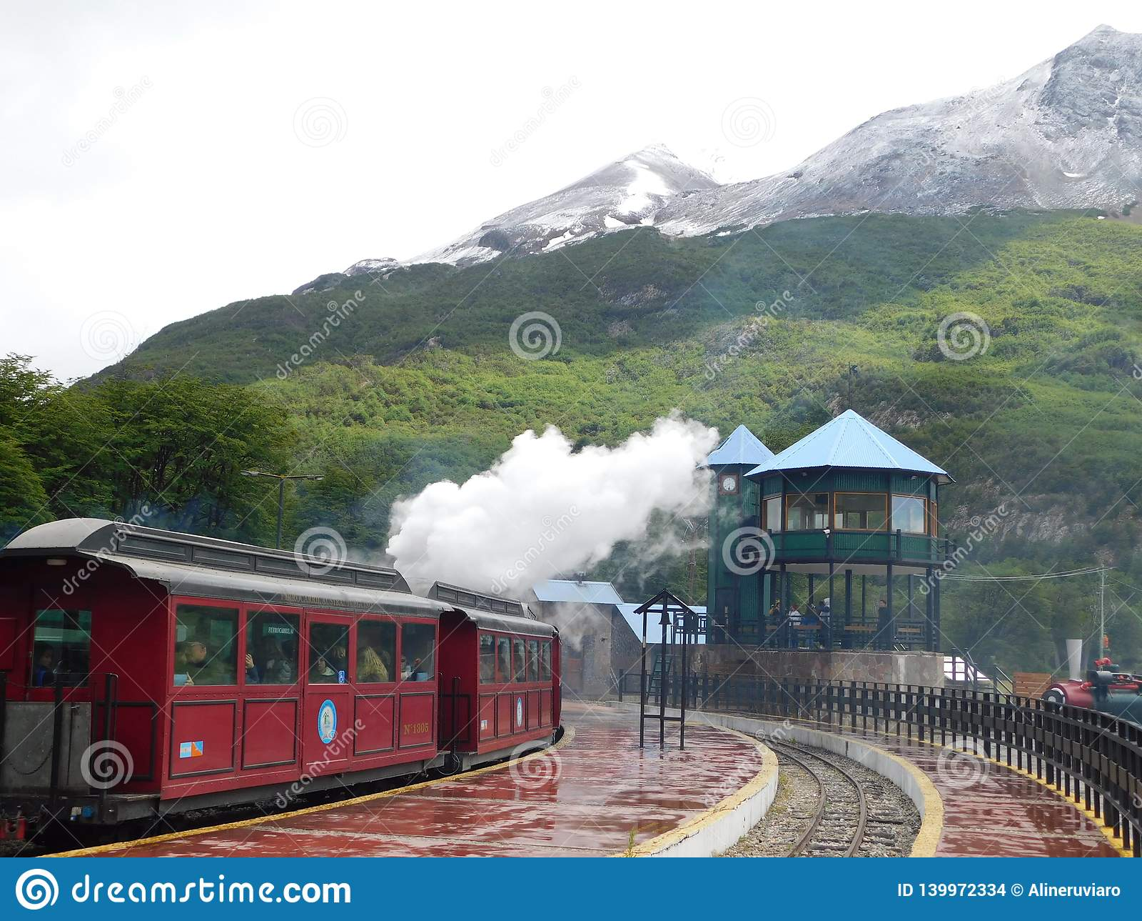 Τραίνο από το τέλος του κόσμου σε Ushuaia Αργεντινή
