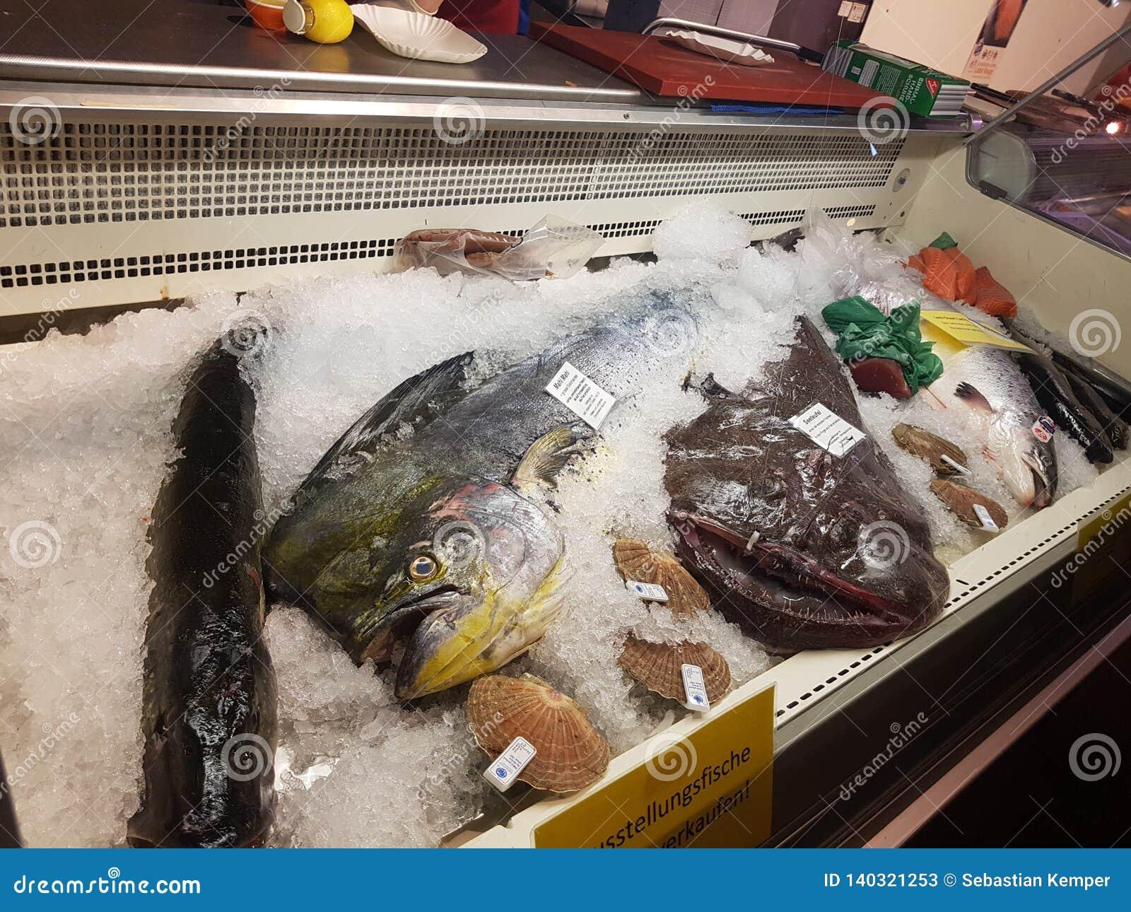 Τρόφιμα Γαλλία αγοράς ψαριών