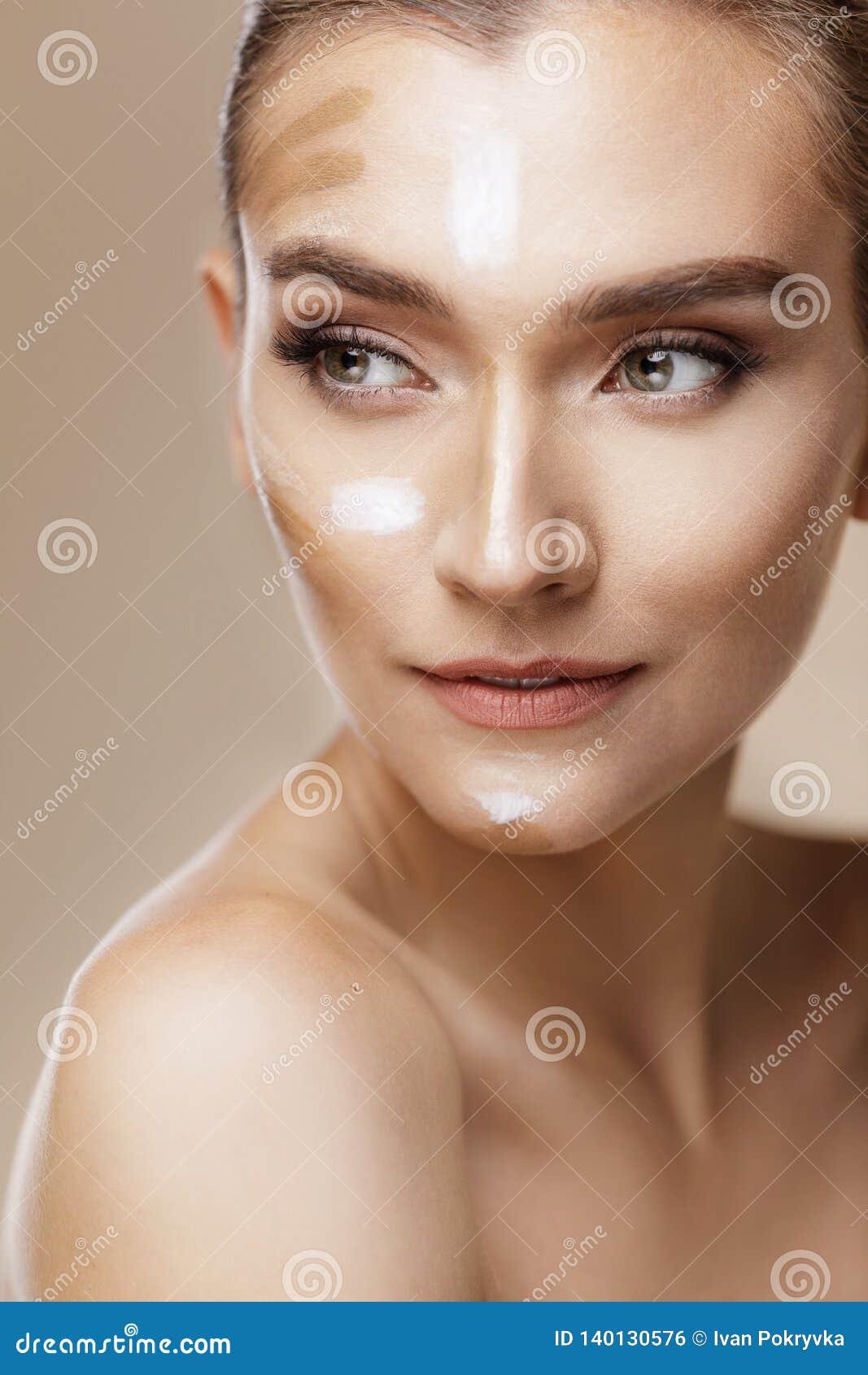 Φροντίδα δέρματος και έννοια ομορφιάς