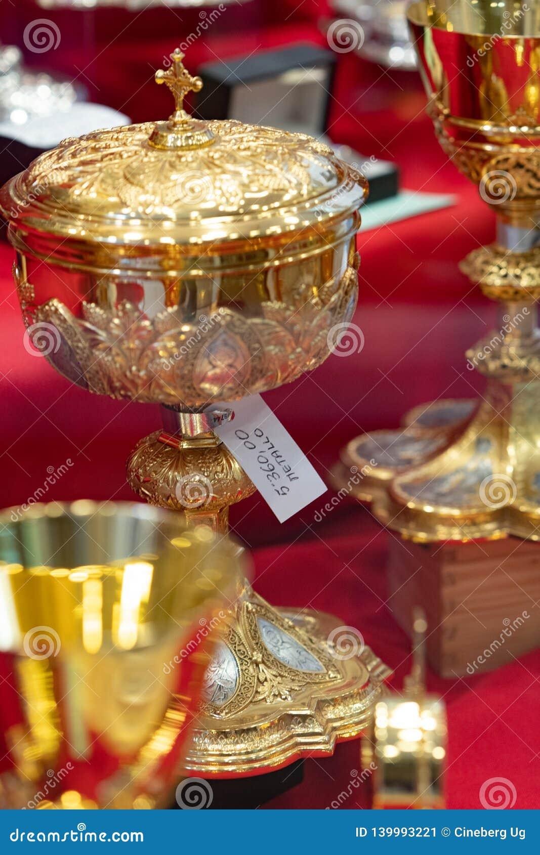 Χρυσά κάλυκες ή goblets