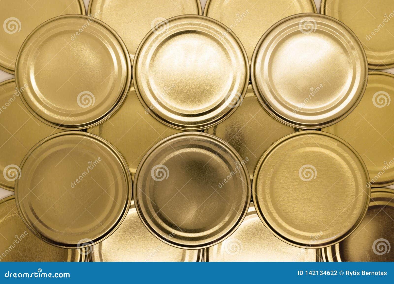 Χρυσό υπόβαθρο καπακιών βάζων
