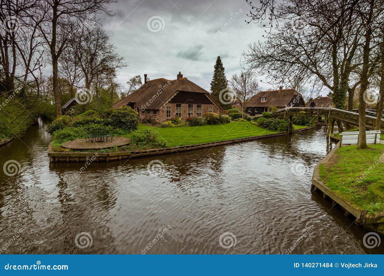 Χωριό Giethoorn, Κάτω Χώρες