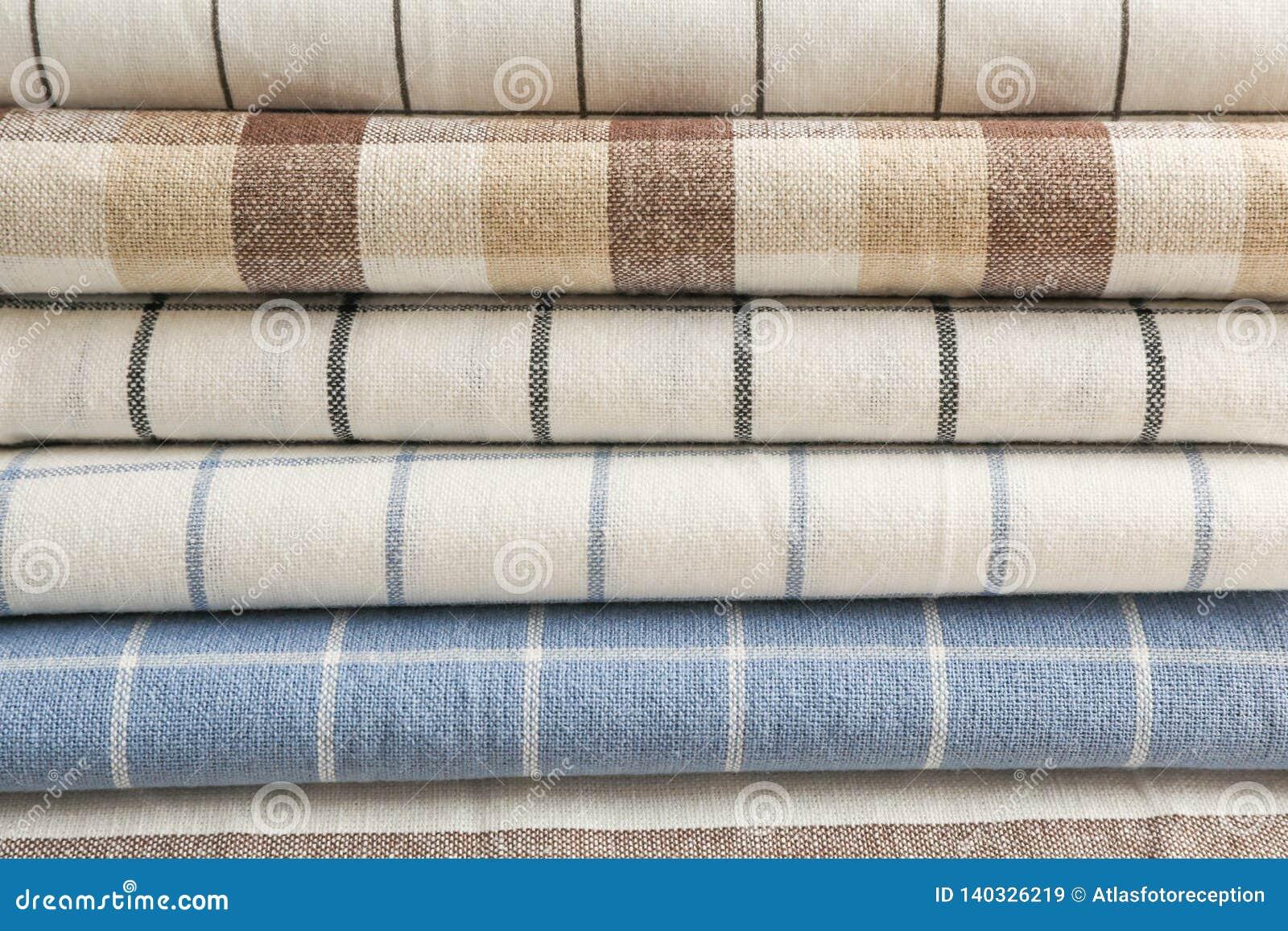 Πετσέτες υφάσματος ως υπόβαθρο