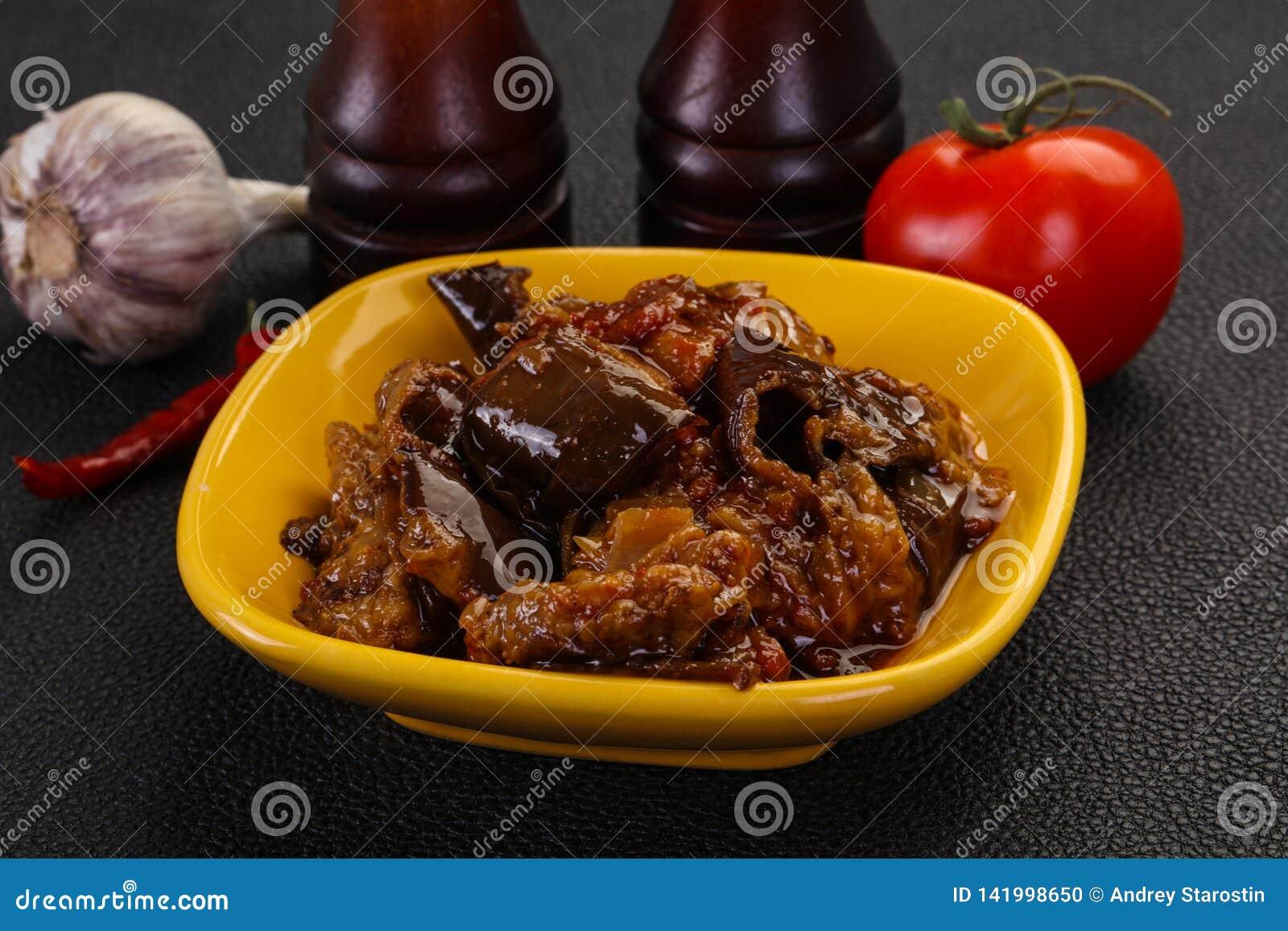 Πρόχειρο φαγητό Eggpant - ιμάμης bayaldy