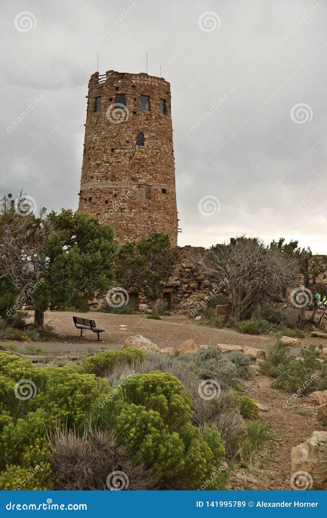 Πύργος άποψης στο βόρειο πλαίσιο του μεγάλου φαραγγιού