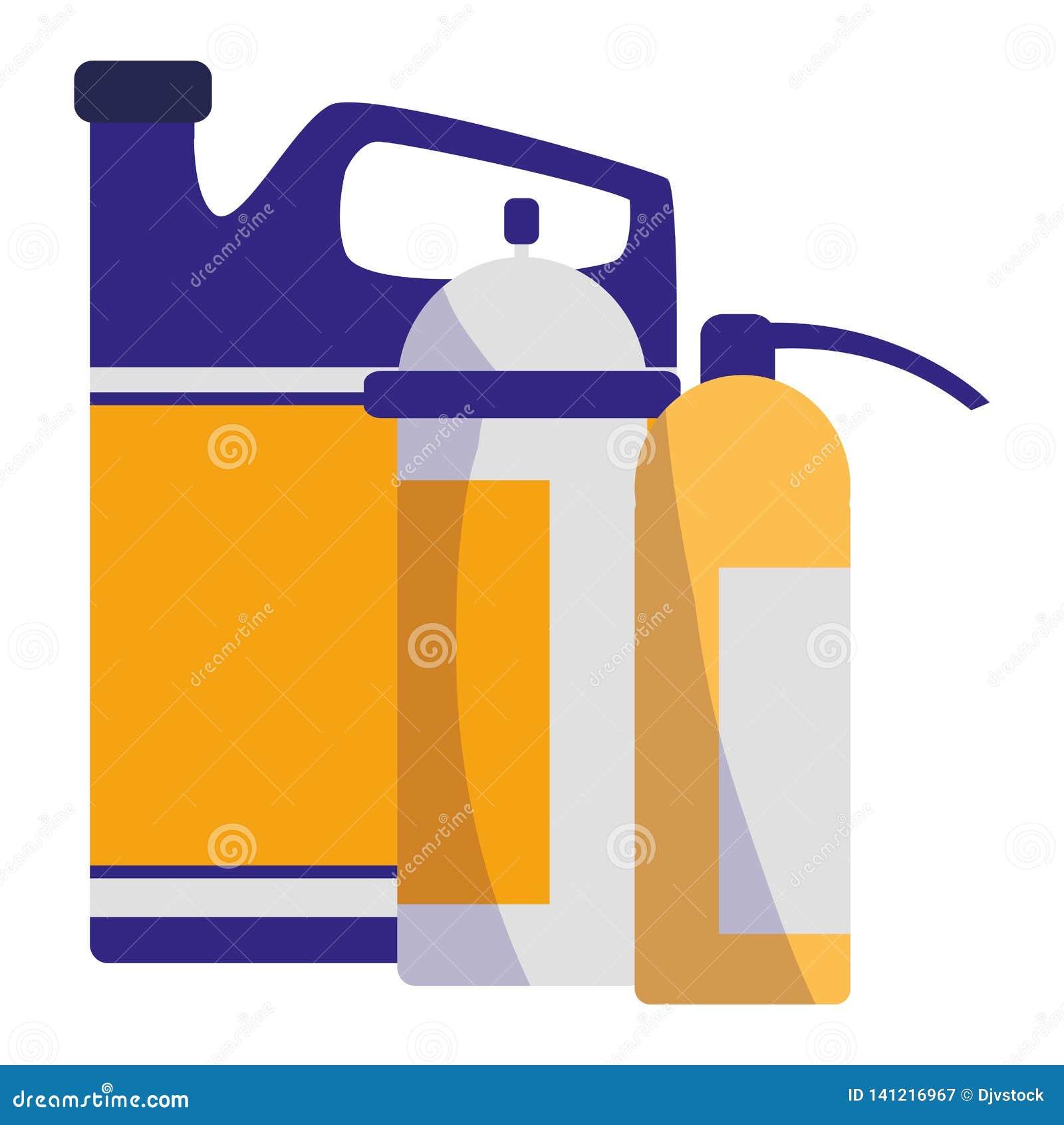 Πυρκαγιά πυροσβεστήρων με το γαλόνι πετρελαίου