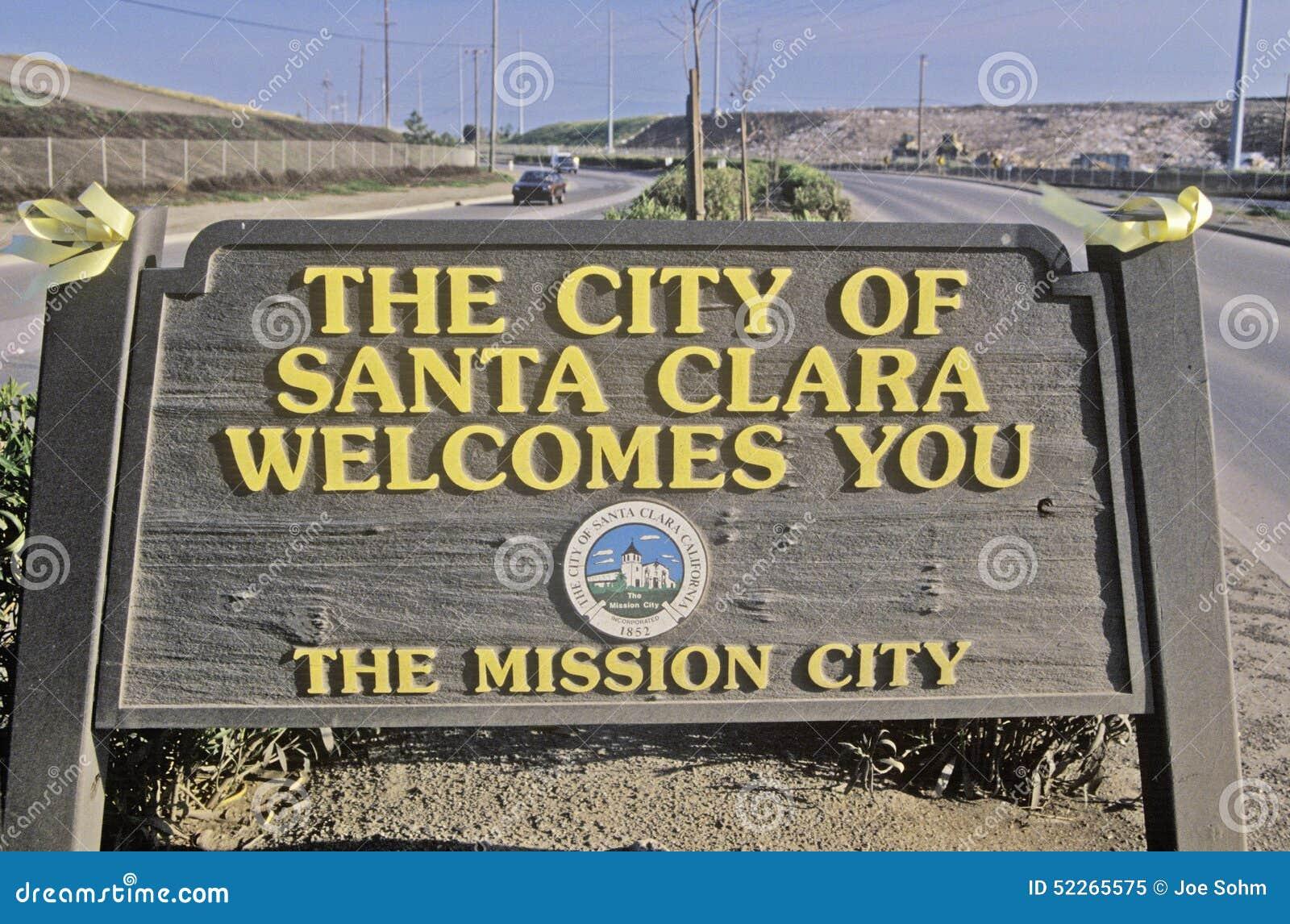 ï ¿ ½ miasto Santa Clara Wita Youï ¿ ½ znaka, Santa Clara, Krzemowa Dolina, Kalifornia