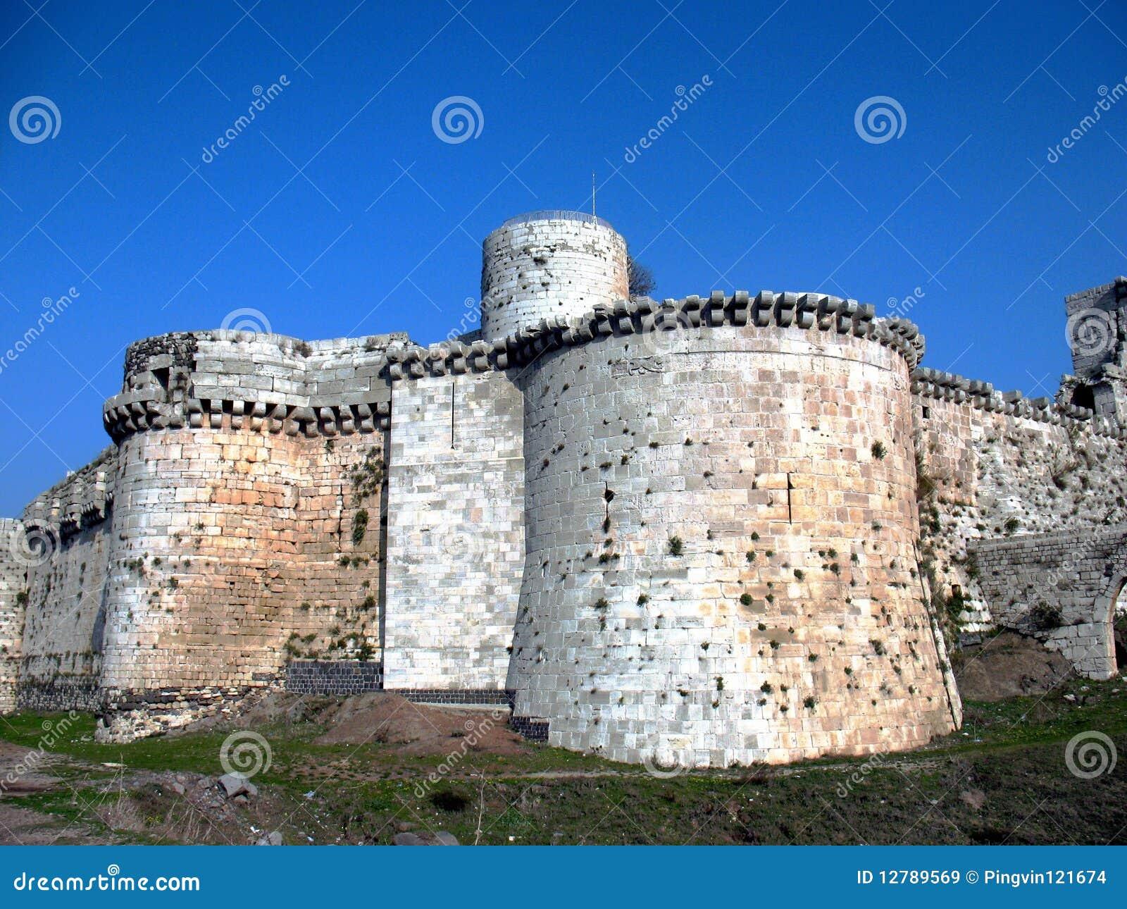 Сrak des Chevaliers. Western Wall