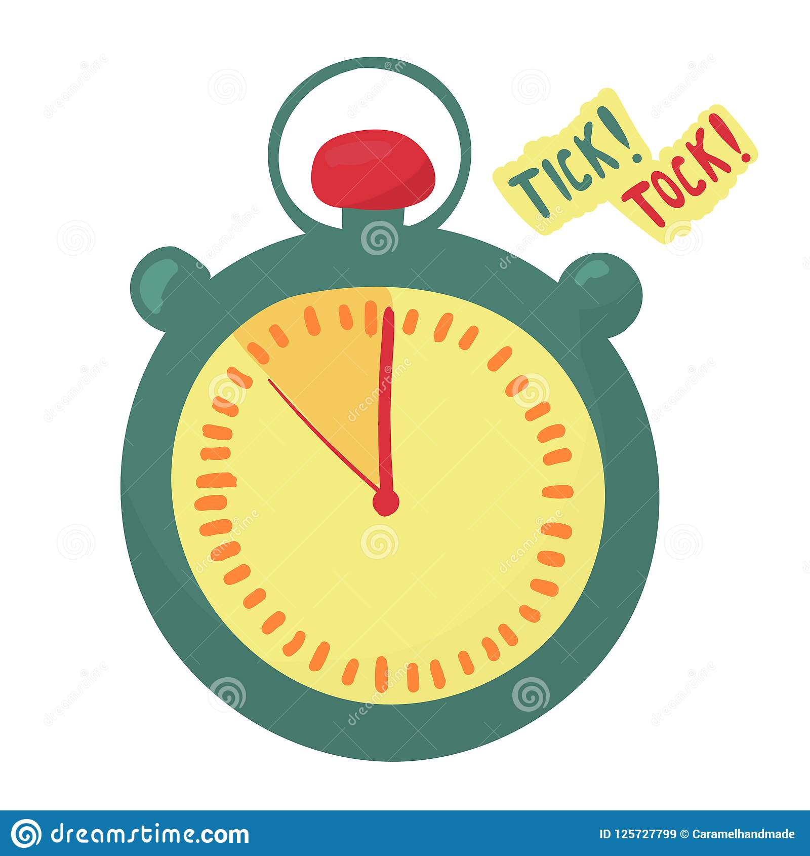 Уtimer indica que el tiempo está corriendo hacia fuera De última hora las flechas hacen el tock de la señal Cronómetro