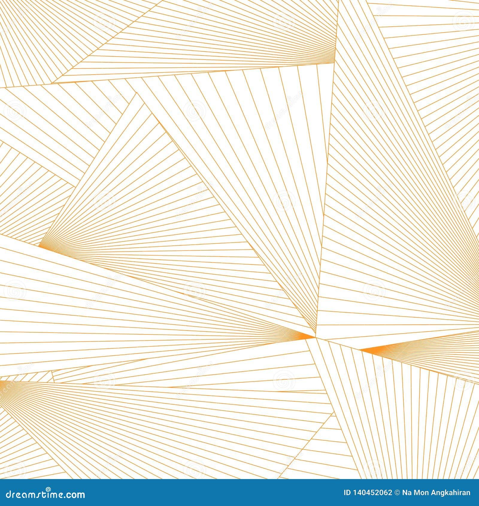 Абстрактные линии предпосылка формы треугольника