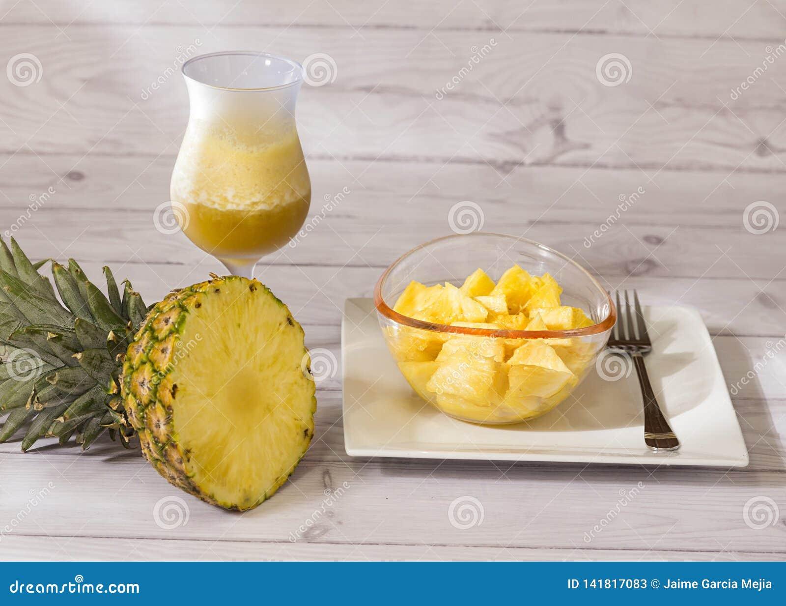 Ананас тропического плода от Южной Америки