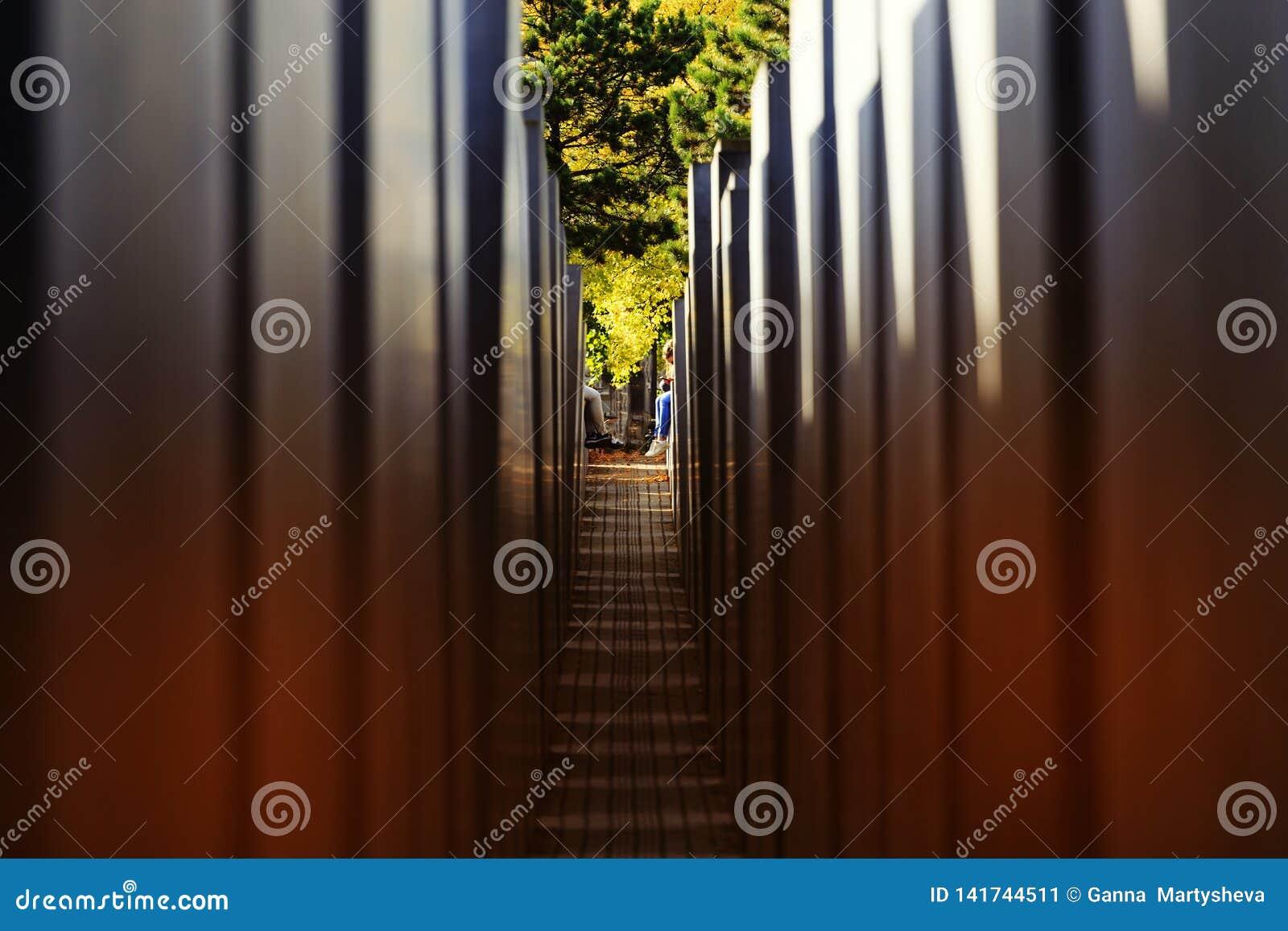 Берлин, Германия, мемориал, жертвы холокоста, туристы, архитектура, искусство, блок, Европа, фашизм, музей