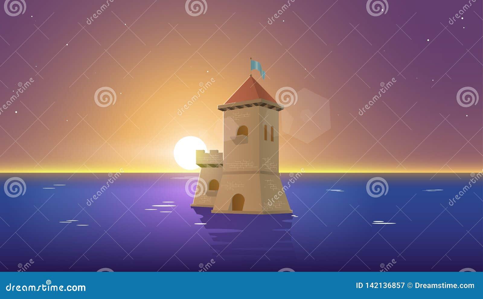 Взгляд Lanscape | Немногое замок