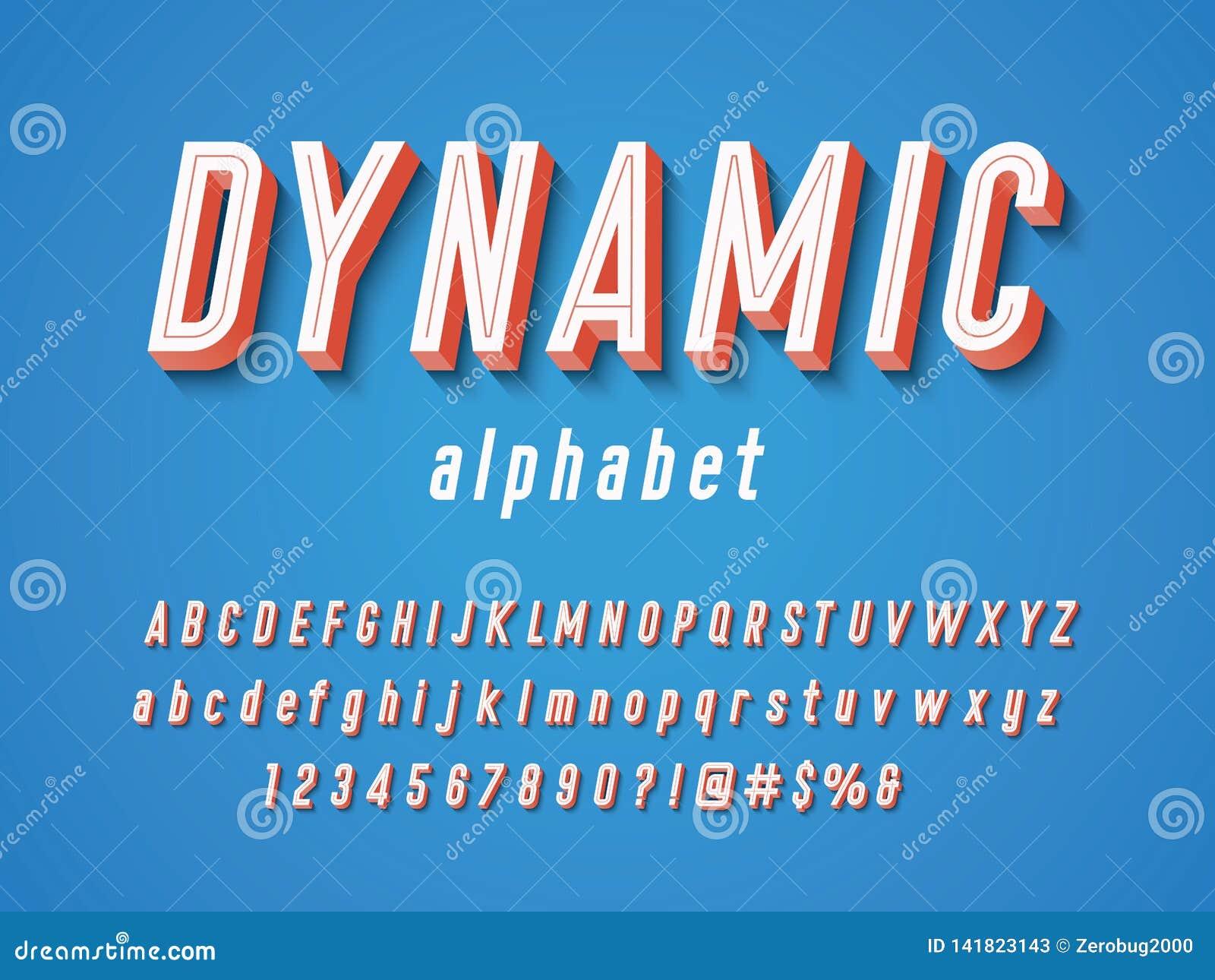 Винтажный шрифт