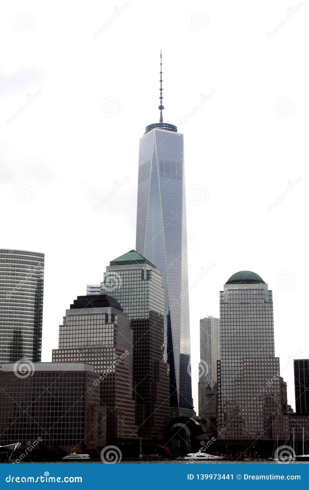 Всемирный торговый центр одно, NYC