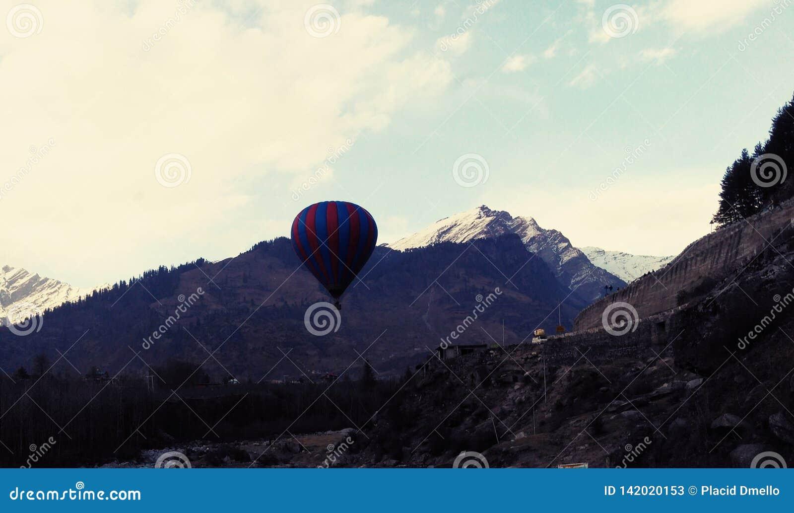 1 воздушный шар горячий