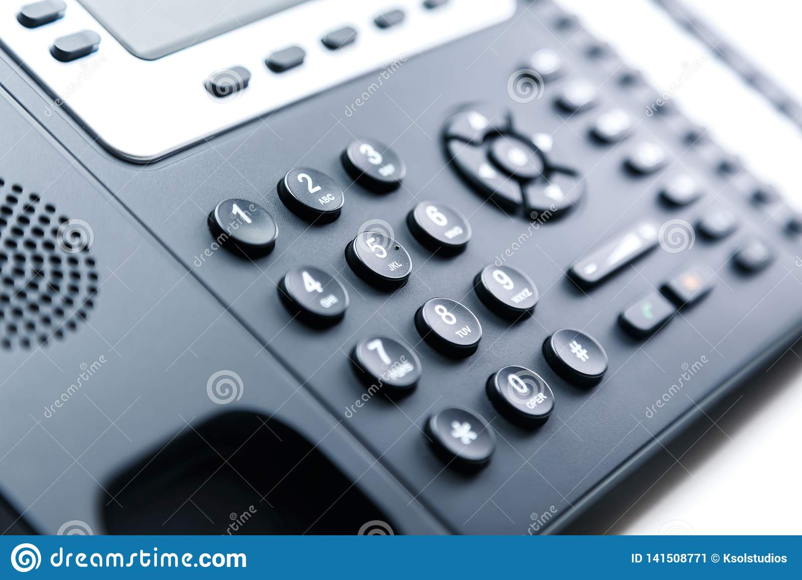 Закройте вверх - кнопочную панель телефона