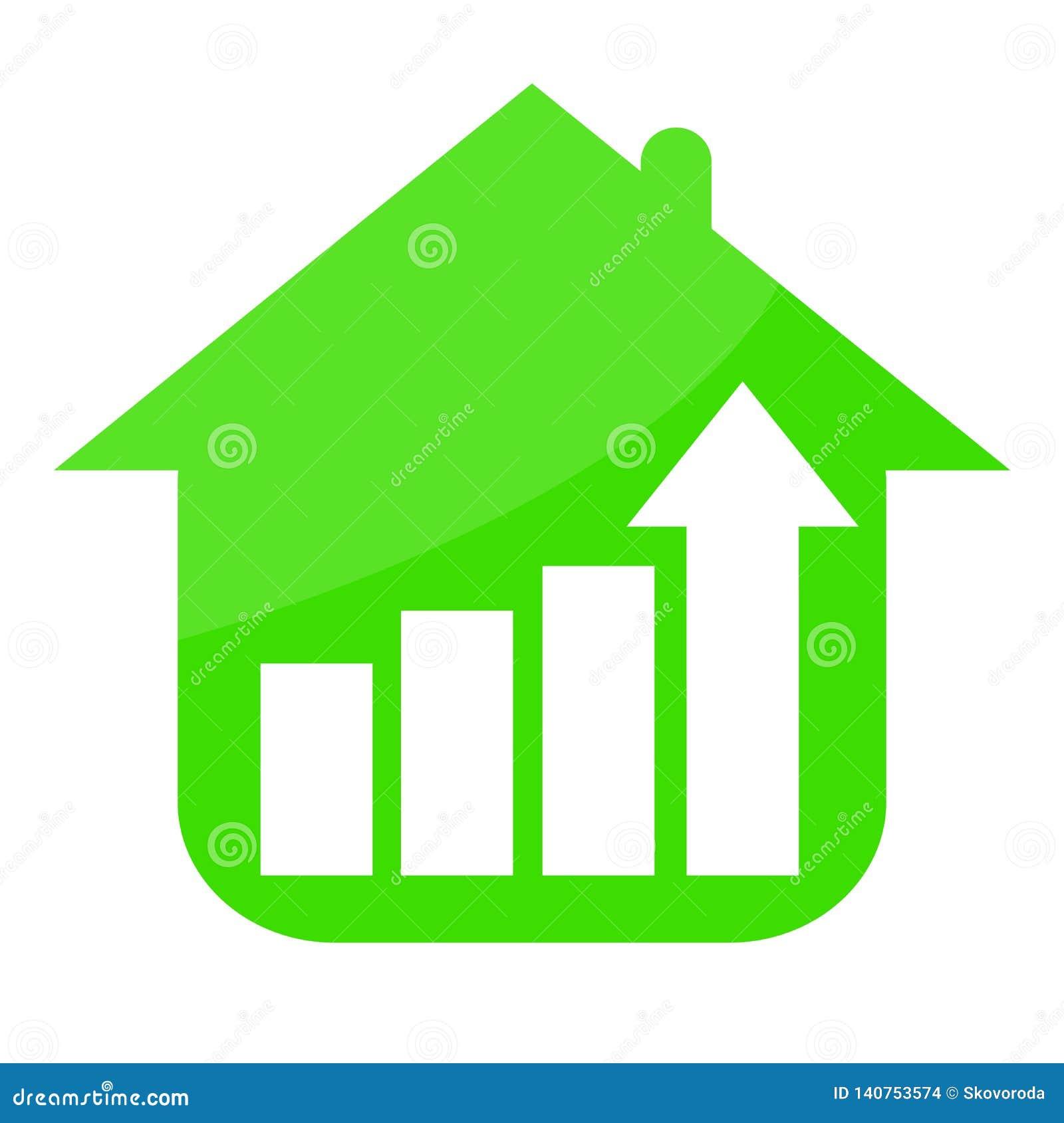 Зеленый дом и растя тенденция