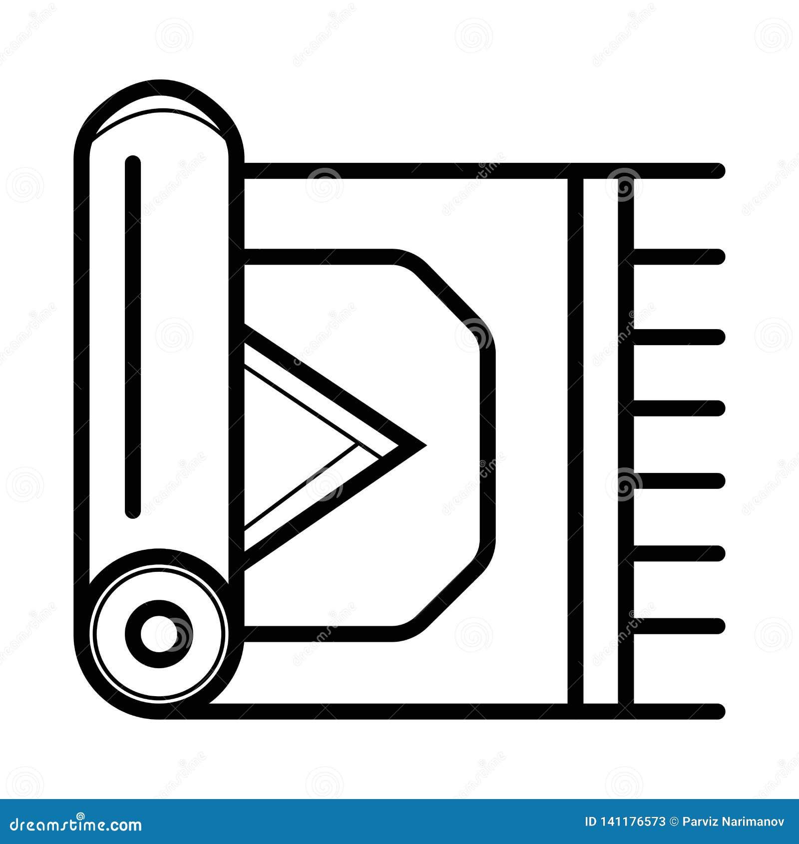 Значок ковра вектор