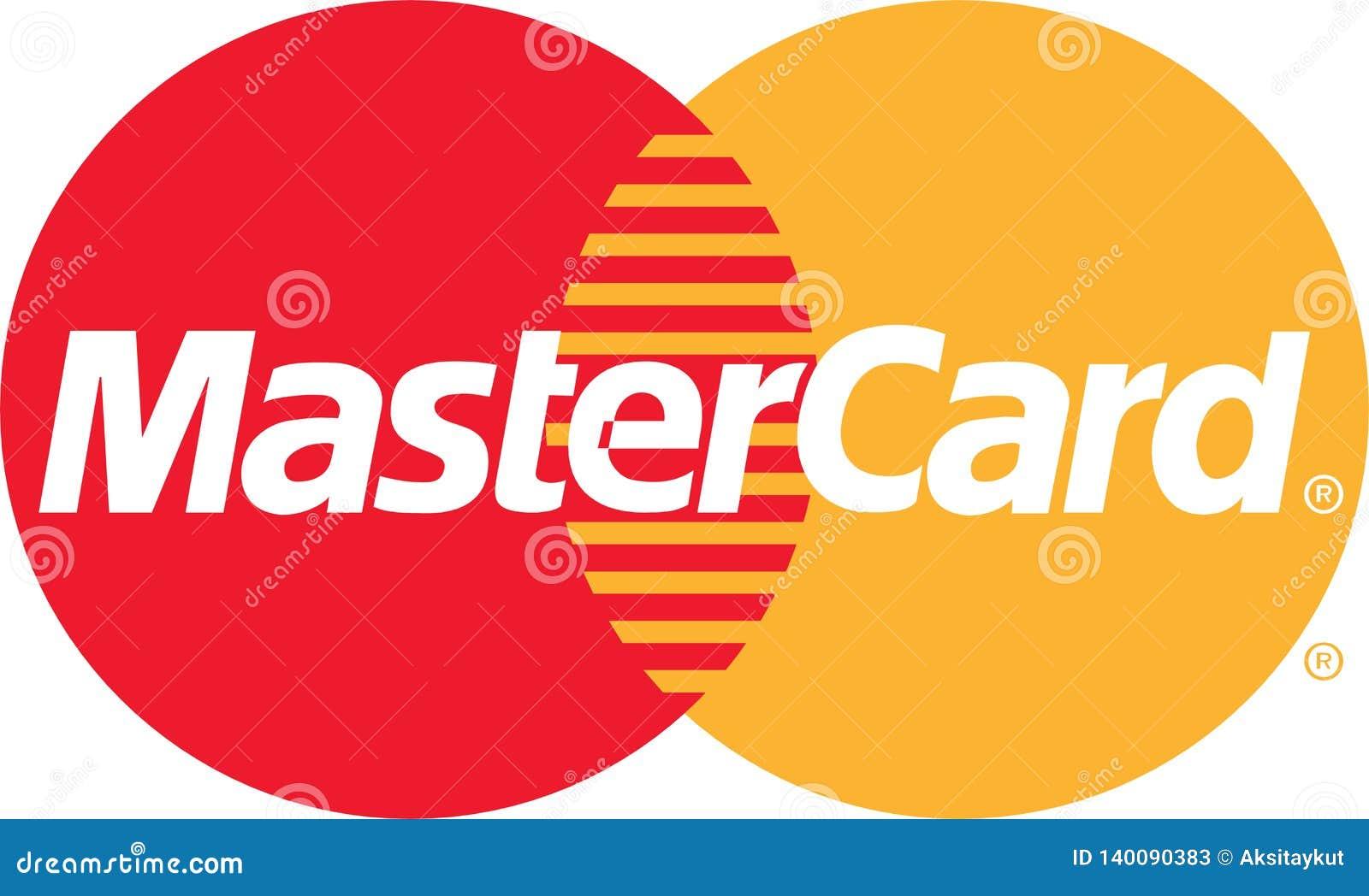 Значок логотипа энергии Mastercard